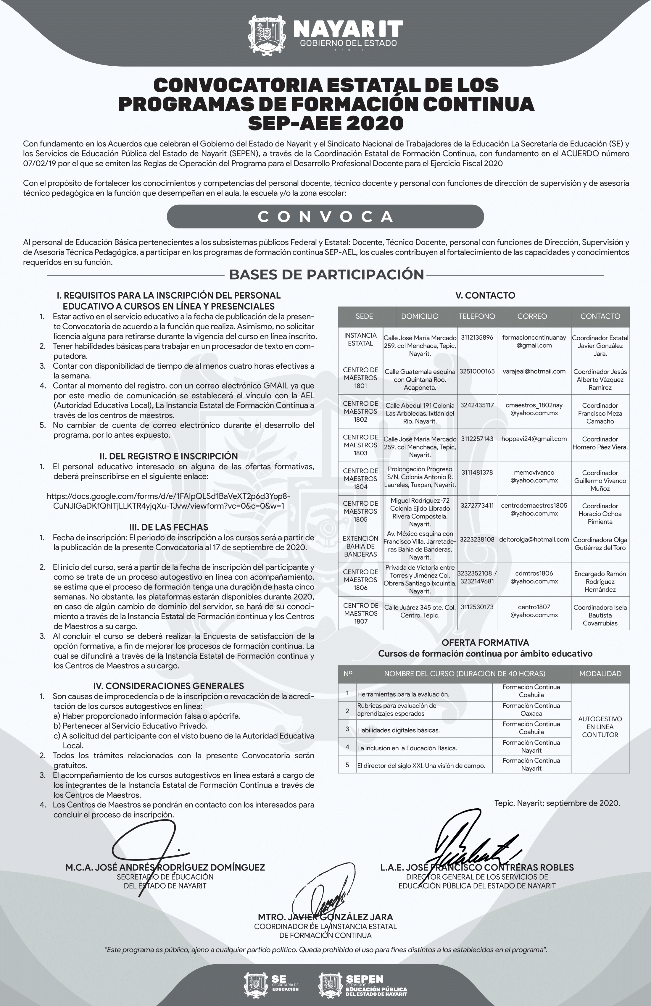 Convocatoria No. 258-1