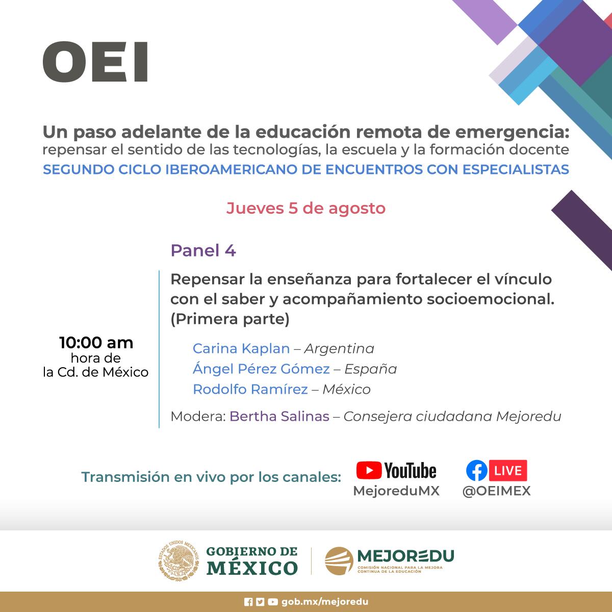 Panel 4 Segundo Ciclo Iberoamericano